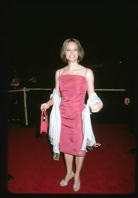 1999 JODIE FOSTER Original 35mm Slide Transparency SILENCE OF THE LAMBS