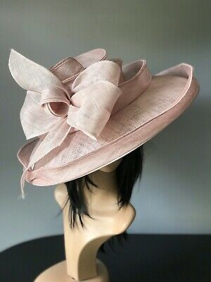 Snoxell Gwyther Rose Pink Tone Ascot Wedding Hat Mother Of The Bride Races