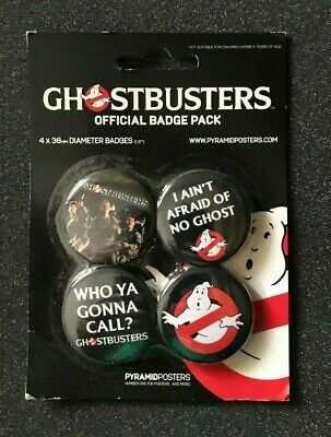 Spille Pins Button Badge Official 25mm - GHOSTBUSTERS - Cinema Cult Anni 80