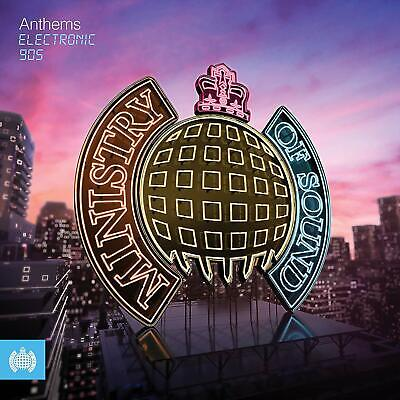 ANTHEMS : ELECTRONIC 90s (Ministry of Sound) 3 CD Set (2019) (New & Sealed)