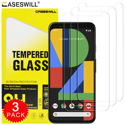 For Google Pixel 3a XL Premium HD-Clear Tempered Glass Screen Protector [2-Pack]