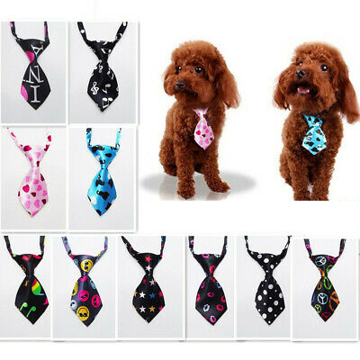 Adjustable Dog Cat Pet Puppy Toy Grooming Bow Tie Necktie Clothes E