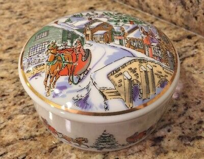 Tiffany & Co.Limited Edition CVS Exclusive Holiday Trinket Box 1992