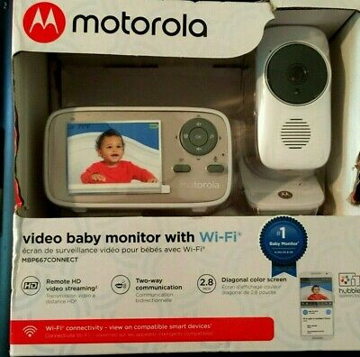 Motorola Video Baby Monitor With WiFi - MBP667CONNECT New