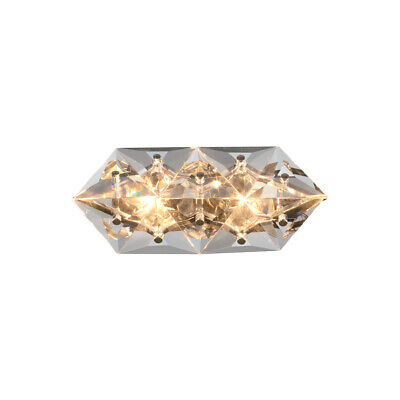Crystorama COL-7902-CH Collins Wall Sconce Polished Chrome
