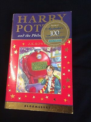 Harry Potter and the philosopher's stone  1st/2nd Print   Bloomsbury  PB NEW