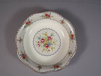 Royal Albert  Petit Point Bone China Round Open Vegetable Bowl England Scalloped