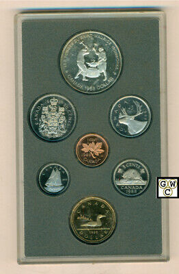 1988 Canada Proof Double Dollar Set (10120) (OOAK)