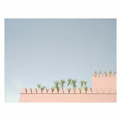 NEW A La Mode Studio Pink Morocco Canvas Print