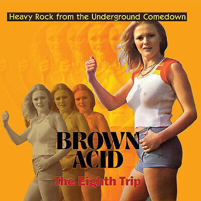 Brown Acid: The Eighth Trip VARIOUS ARTISTS Limited RSD 2019 New Sealed Vinyl LP