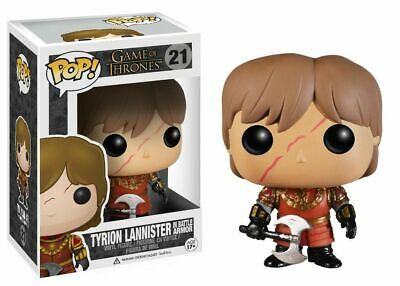 Funko Pop! Game Of Thrones Tyrion Lannister w/ Scar Battle Armour #21 Vinyl Fig