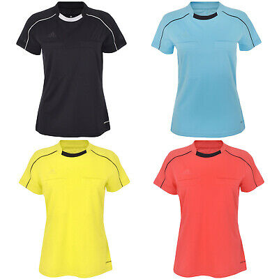 10e0c274994 WOMEN S T-SHIRT ADIDAS Referee 14 Jersey V-Neck Climacool Tee Sort ...