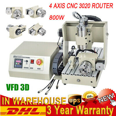 CNC3020 3-AXIS CNC Router Engraver Milling Machine + MHC2 +