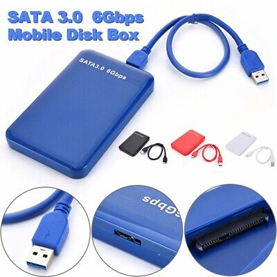 "2.5"" USB 3.0 Disco Duro SATA 3.0 III 6Gbps Externa SSD HDD Movil Caja Box Case"