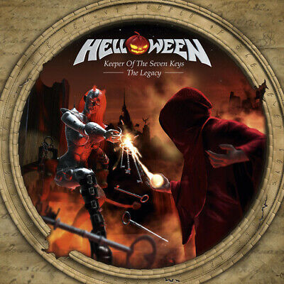 Helloween - Keeper Of The Seven Keys: The Legacy [New Vinyl] Clear Vinyl, UK - I