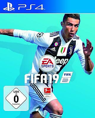 PS4 Game EA Sports Fifa 19 2019 Football German Version Quick Delivery New