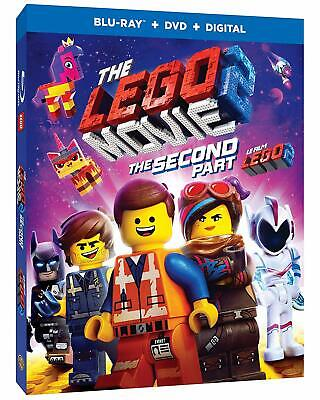 The Lego Movie 2: The Second Part (Blu-ray/DVD, 2019, Canadian)