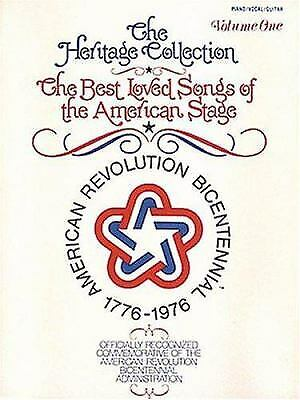 Best Loved Songs of the American Stage Vol. 1 : The Heritage Collection