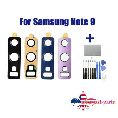 Samsung Galaxy Note 9 N960 Back Camera Glass Lens Replacement +Tools