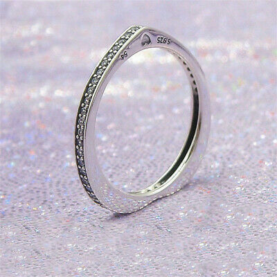 68ef716cf88b4 AUTHENTIC 925 STERLING Silver Pandora Ring Classic Elegance With ...
