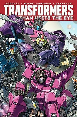 Transformers More Than Meets The Eye Volume 9 by James Roberts