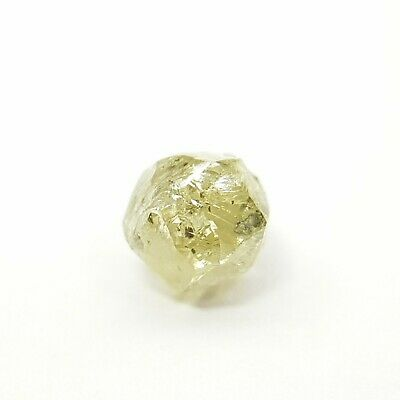 0.65 Cts Natural Fancy Yellow Color Rough Diamond Natural Rough African Diamonds