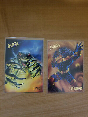 1995 Fleer Ultra Spiderman Base Card Lot of 2 Trading Cards
