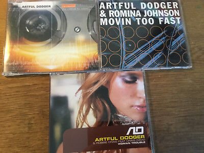 Artful Dodger [3 CD MAXI]  Movin Too Fast + Woman Trouble + Re-Wind
