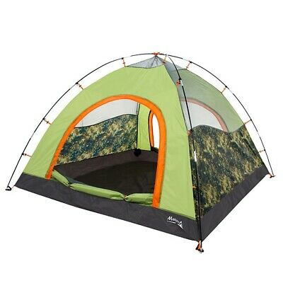 3-4 Persons Windproof Waterproof Automatic Instant Pop Up Picnic Camping Tent