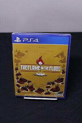 The Flame in the Flood PS4 Sealed Limited Run Games #83 LR-P50 Variant Cover