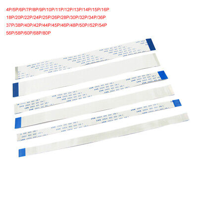 4P-80P 20cm 0.5mm FFC/FPC Flexible Flat Ribbon Cable Forward & Reverse Direction