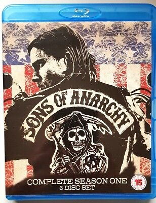 Sons Of Anarchy - Complete Season One (BLU-RAY) **BRAND NEW** (All Regions)