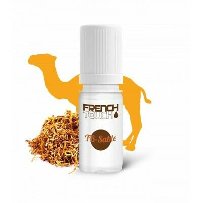 LOT de 10 E-LIQUIDE FRENCH TOUCH-TB-SABLES -10ml-6mg-ELIQUIDE-MADE in FRANCE