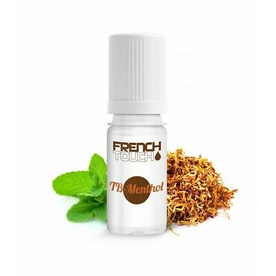 LOT de 10 E-LIQUIDE French Touch TABAC-MENTHOL 10ml-6mg-ELIQUIDE-MADE in FRANCE