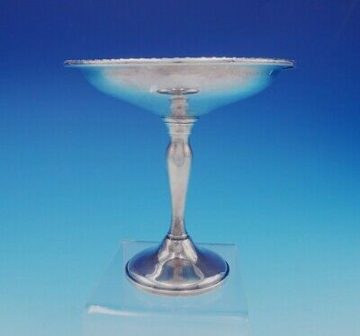 "English Gadroon by Gorham Sterling Silver Compote #1101 5 3/4"" Tall (#3353)"