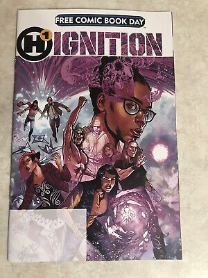 H1 IGNITION Free Comic Book Day 2019! Humanoids! NM