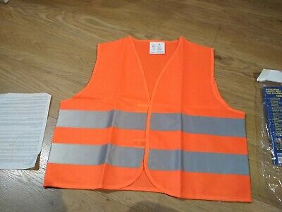 Universal Childrens Hi Vis Safety Vest for School, Cycling Reflective Strips