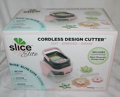 Making Memories Slice Elite Cordless Design Cutter 36237 pink - Neu - unbenutzt