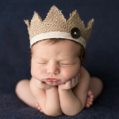 0-2 Years old newborn photography props baby crown hXJ