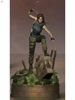 Shadow of The Tomb Raider Ultimate Edition Lara Croft Tombs STATUE **ONLY**