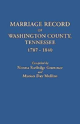1840 MARION COUNTY Tennessee TN Census GENEALOGY - $9 00