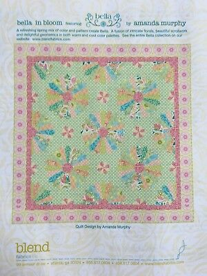 Bella in Bloom Beautiful Dresden Patchwork Quilt Kit - Free Shipping