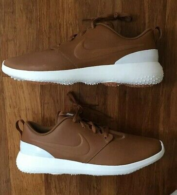 size 40 865b3 cd0c4 Nike Roshe G Premium Golf Shoes Size 11.5 PRM Ale Brown AA1838-200
