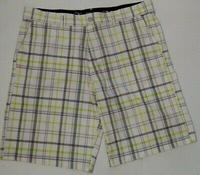 1a51c69149 NEW Men's OP OPFlex Flex 4-Way Stretch Shorts Plaid Size 38 Mens Ocean  Pacific
