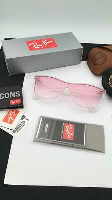 bc4c3f543 ... RB 4440N Matte Crystal/Grey Red Shaded Mirror Sunglasses.