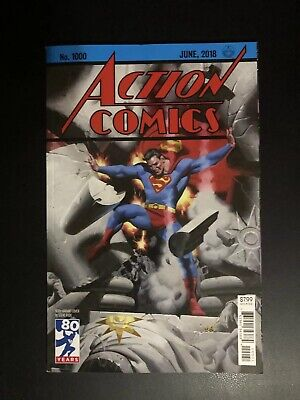 SUPERMAN Action Comics #1000 (June 2018, DC Comics) Steve Rude 1930's Variant
