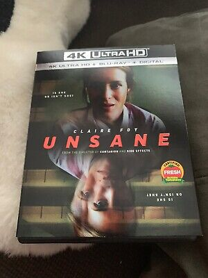 Unsane 4K Ultra HD Blu-ray Perfect condition Case and slip cover No Digital
