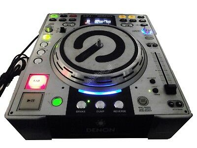 Denon Dn-S3500 Cdj For Cd Mixing Control Pitch Fx Scratch Player Deck Vinyl 2 Fp