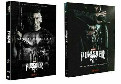 The Punisher Season 1&2 DVD 1-2 Series Brand New & Sealed Post UK Compatible