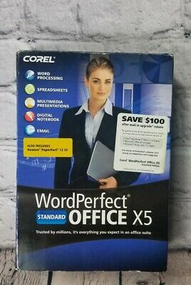 what is wordperfect office x5